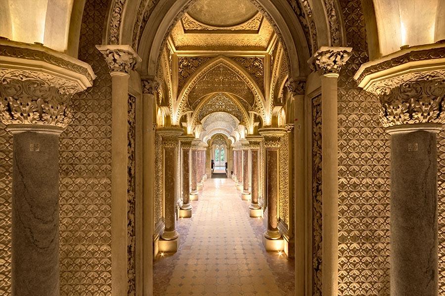 Encore un autre palais à découvrir à Sintra : le Palácio de Monserrate
