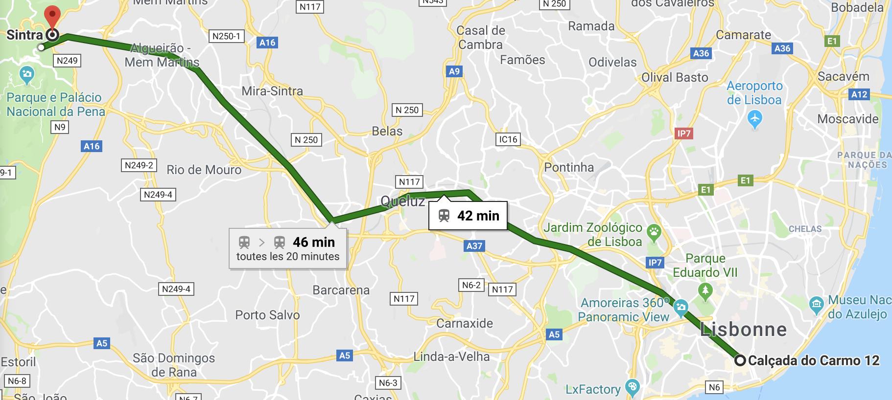 visit Sintra Portugal