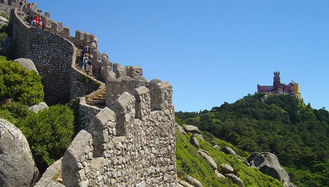 From Castle of Moors you can see Palacio da Pena