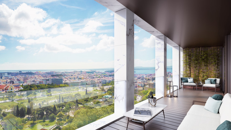The most expensive apartment in Portugal's history sold 7.2 million euros in Lisbon