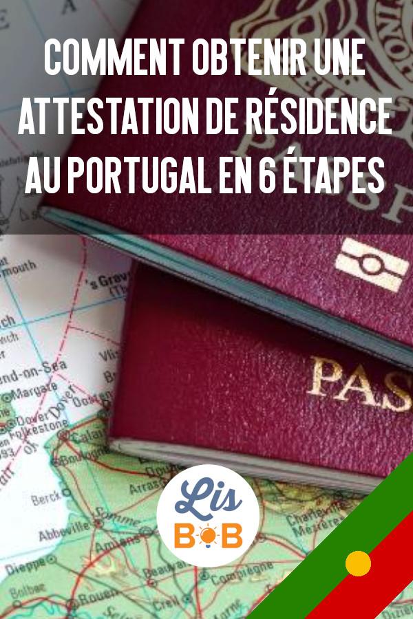 Obtenir une attestation de résidence au Portugal est facile grâce à Lisbob