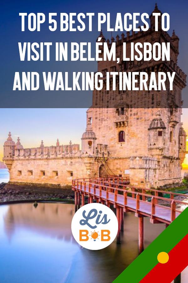 Visit Belém is mandatory if you go to visit Lisbon