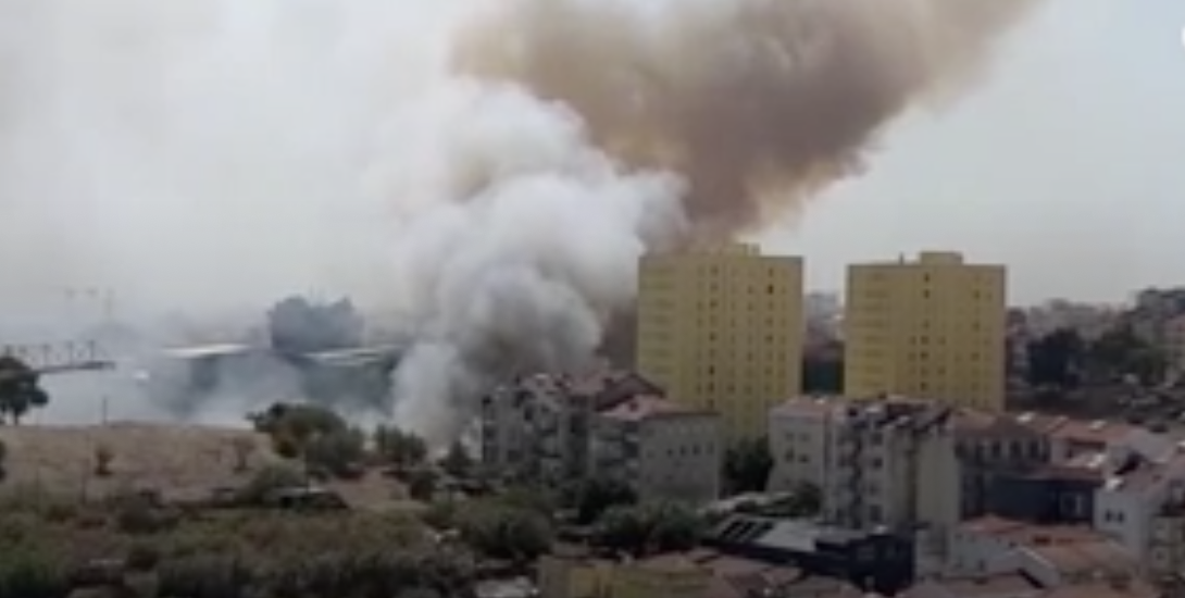 FIRE IN LISBON: 5 WOUNDED IN PENHA DA FRANÇA, THE FIRE CONTROLLED