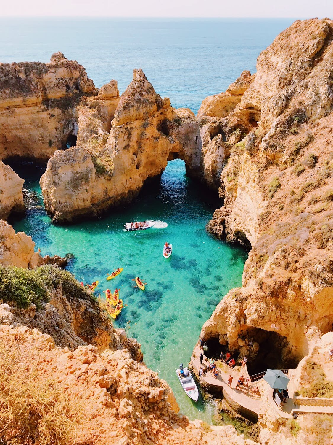 Portugal offers a wide range of landscapes