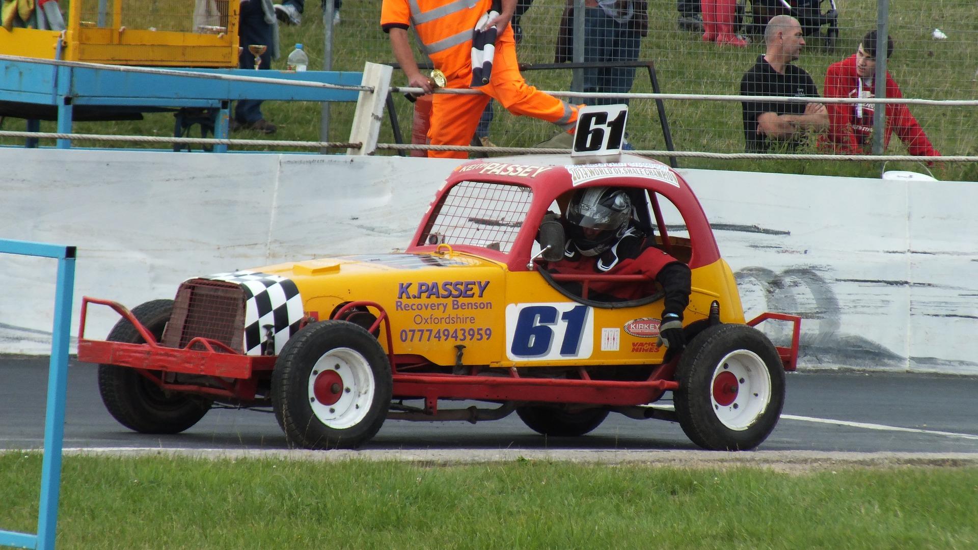 Stock car racing at Redruth