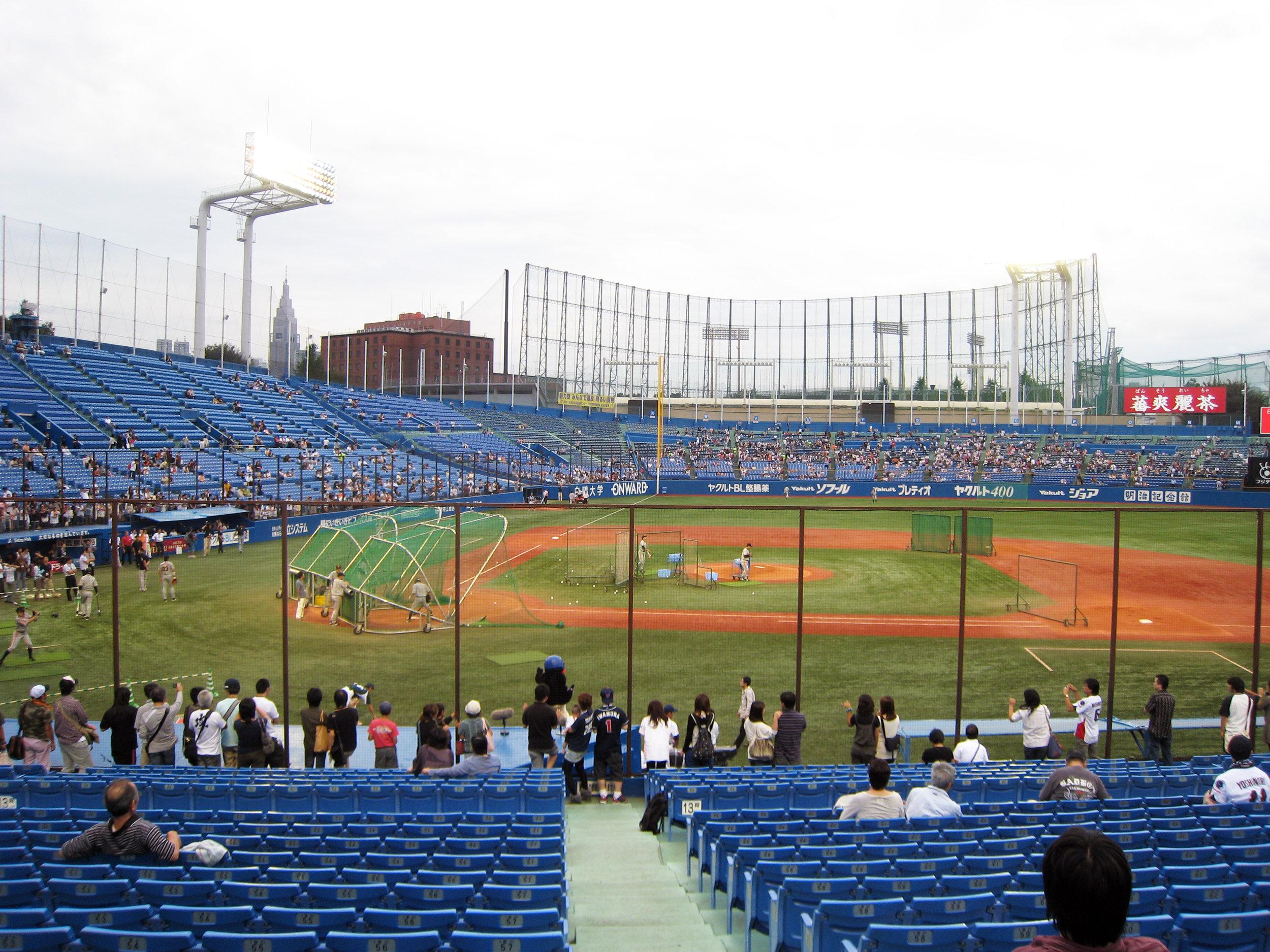 Jingu Stadium - Tokyo