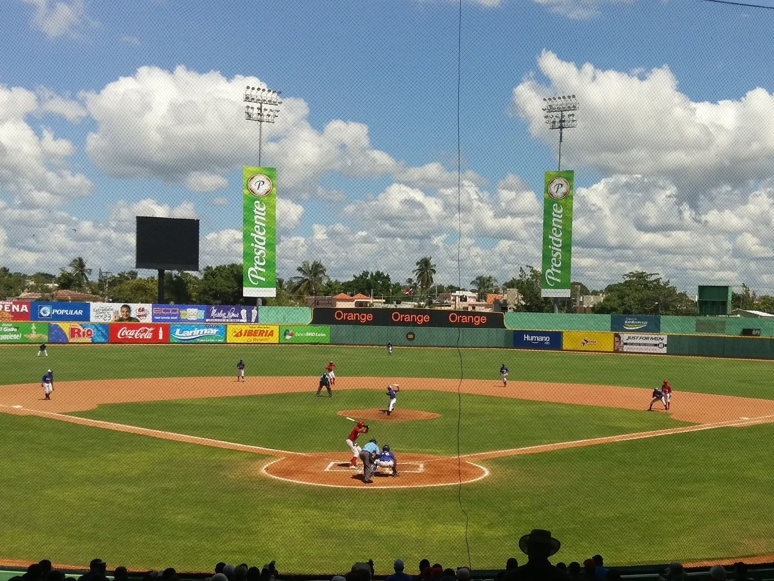 Professional Dominican stadiums are comparable to AAA ballparks in the U.S.