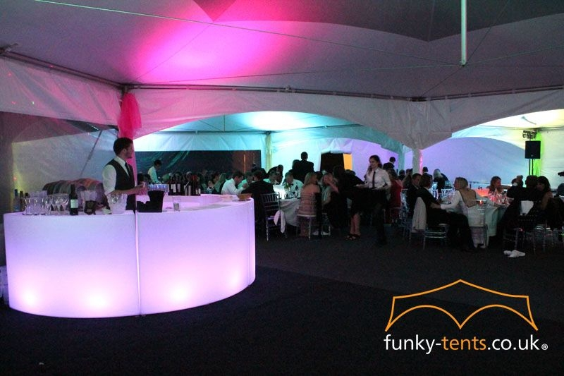 Our LED Circular bars creates an amazing focal point for any event. We hire all of our equipment out individually. Put it in your garage, barn or Village Hall to create an event to remember
