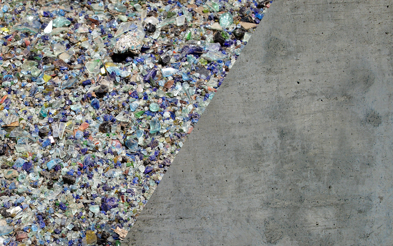 Glass in Concrete collaborative -
