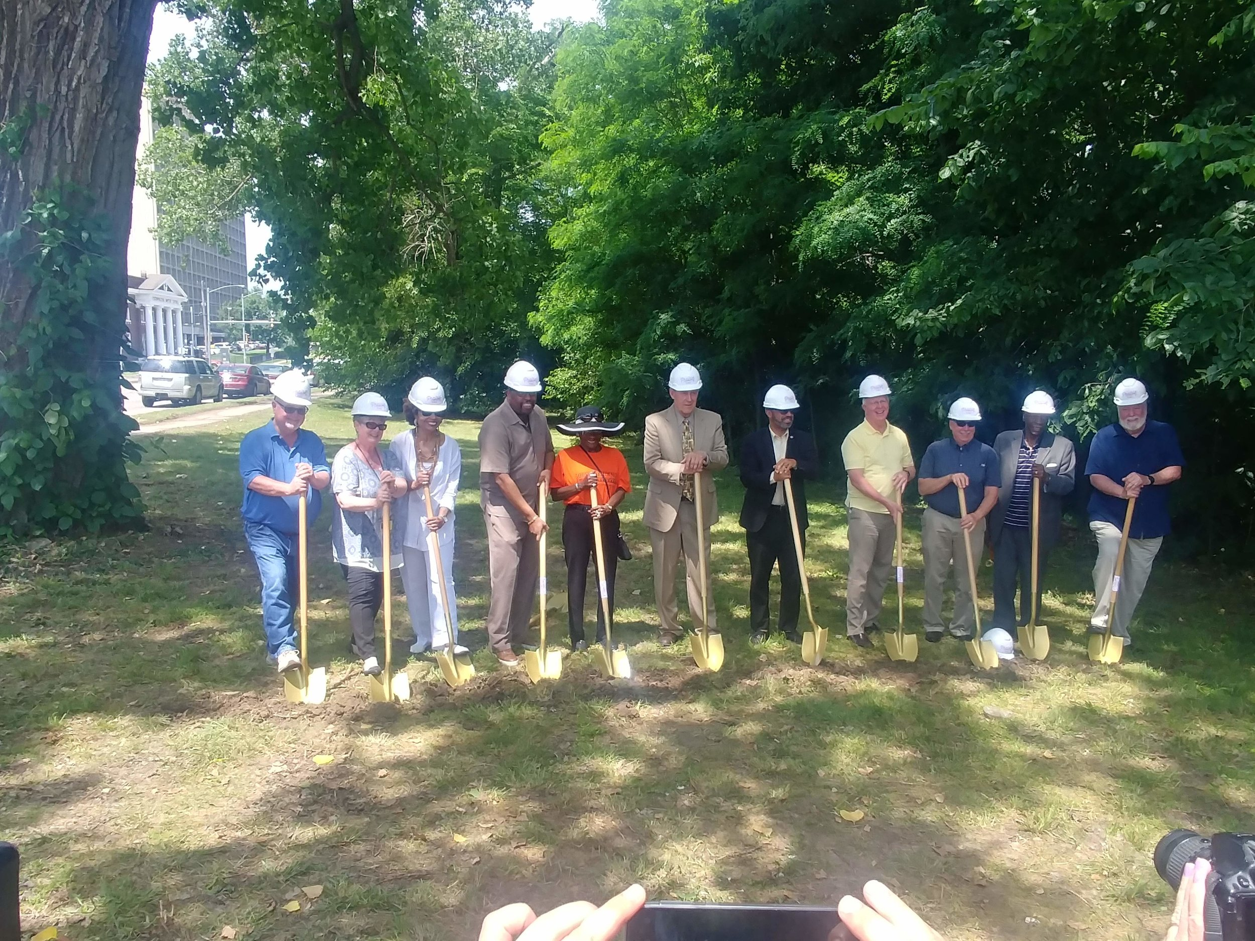 Groundbreaking for the Boulevard Lofts