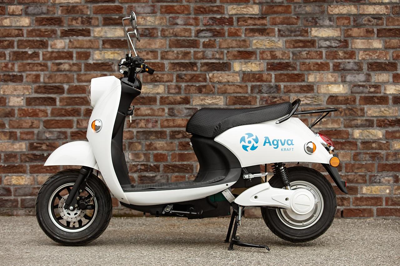 El-scooter fra Agva Kraft