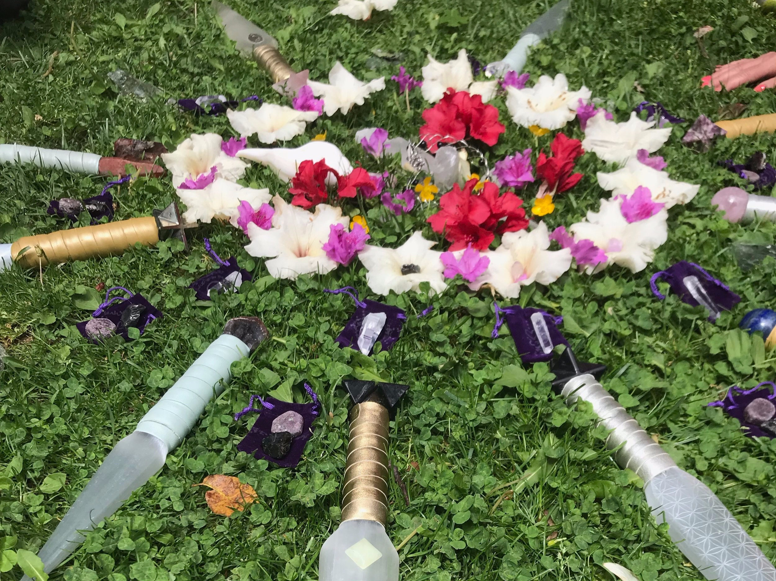Ceremony - Just being in the vicinity of Mount Shasta creates an air of sacredness and ceremony like no other. Each moment is an impromptu ceremony as you connect with the land and with one another.