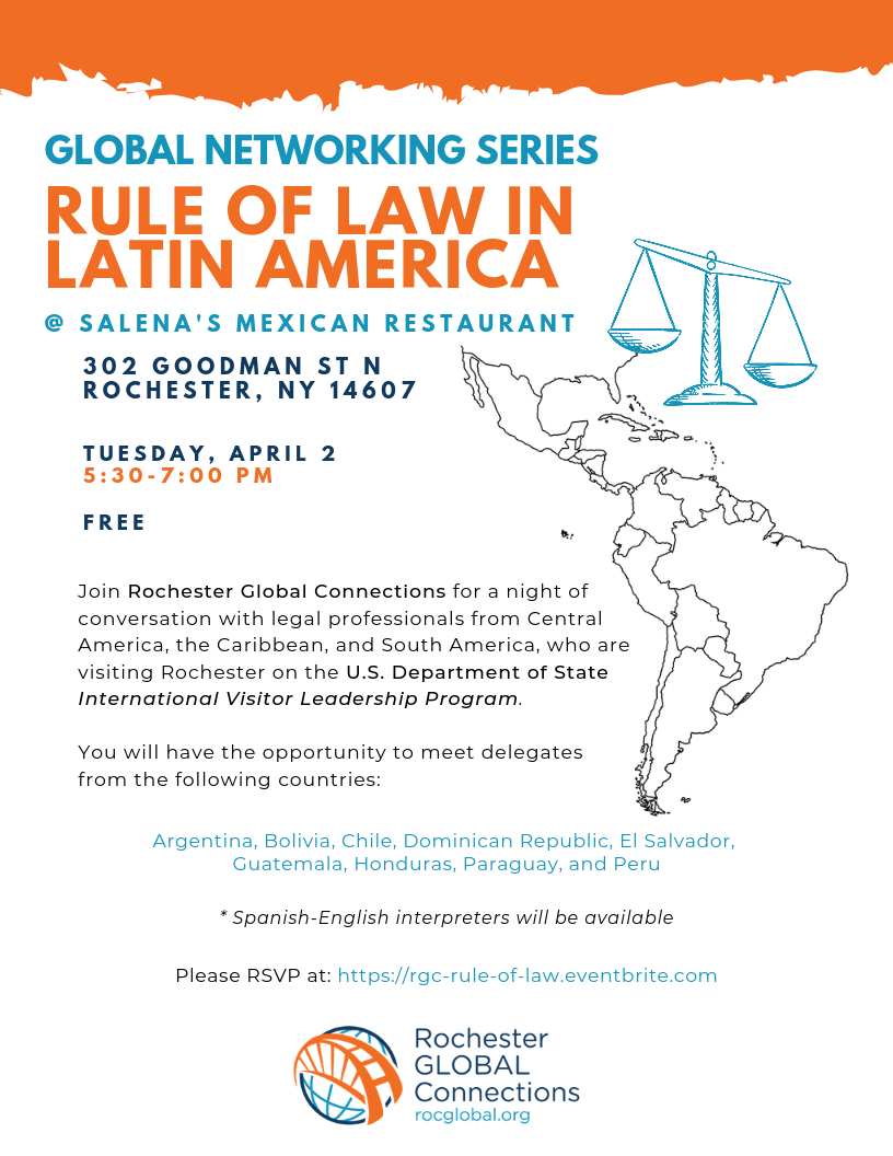 Global Networking Series Rule Of Law In Latin America