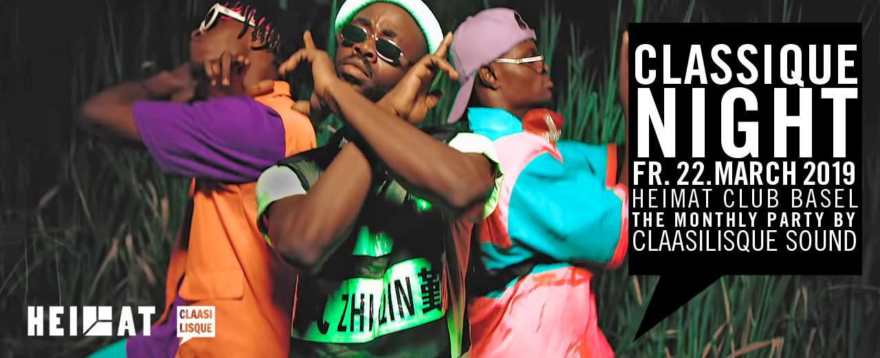 Classique Night: Dancehall/Reggae by Claasilisque