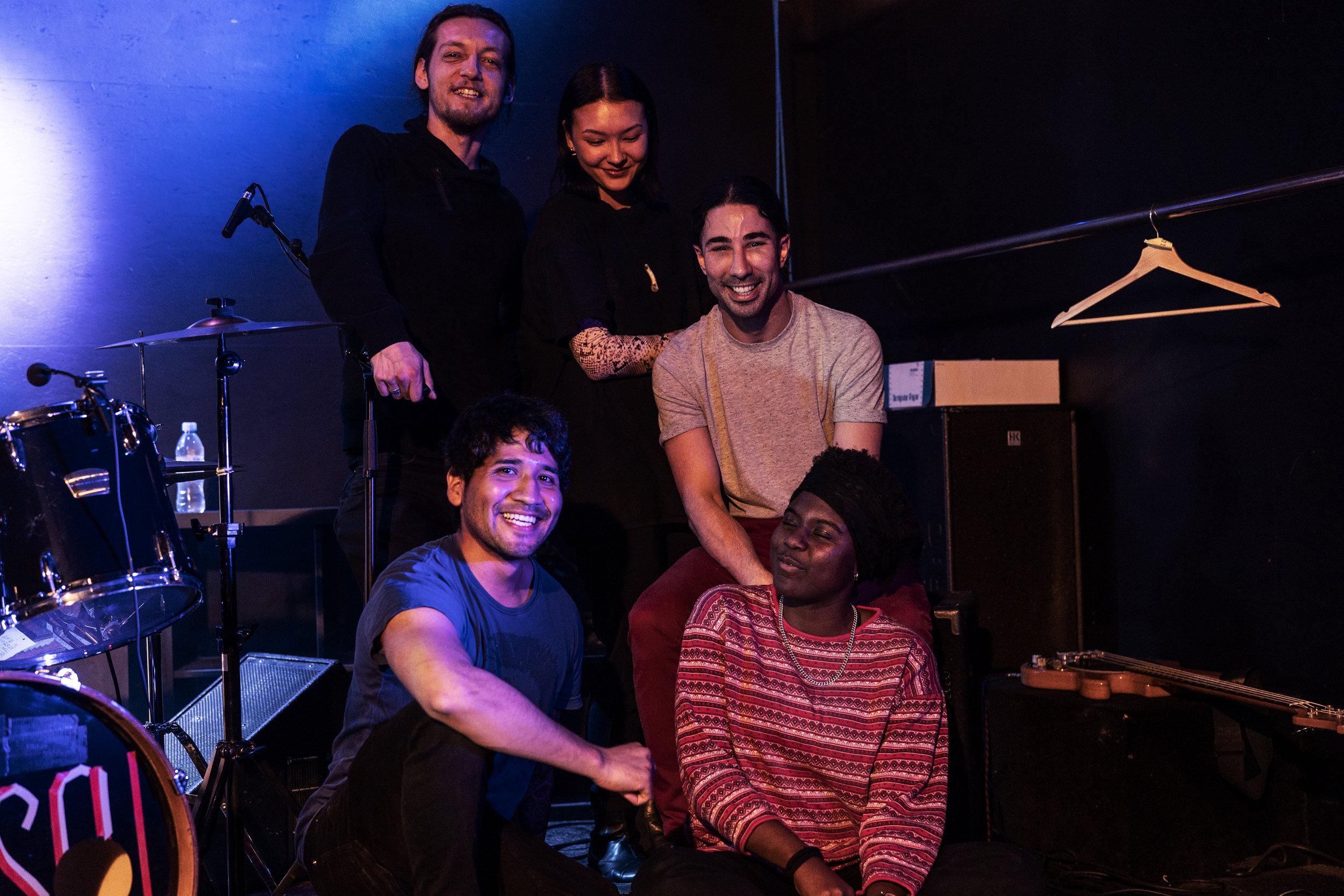 Das Team des donnerStage fotografiert von: Gawin Steiner