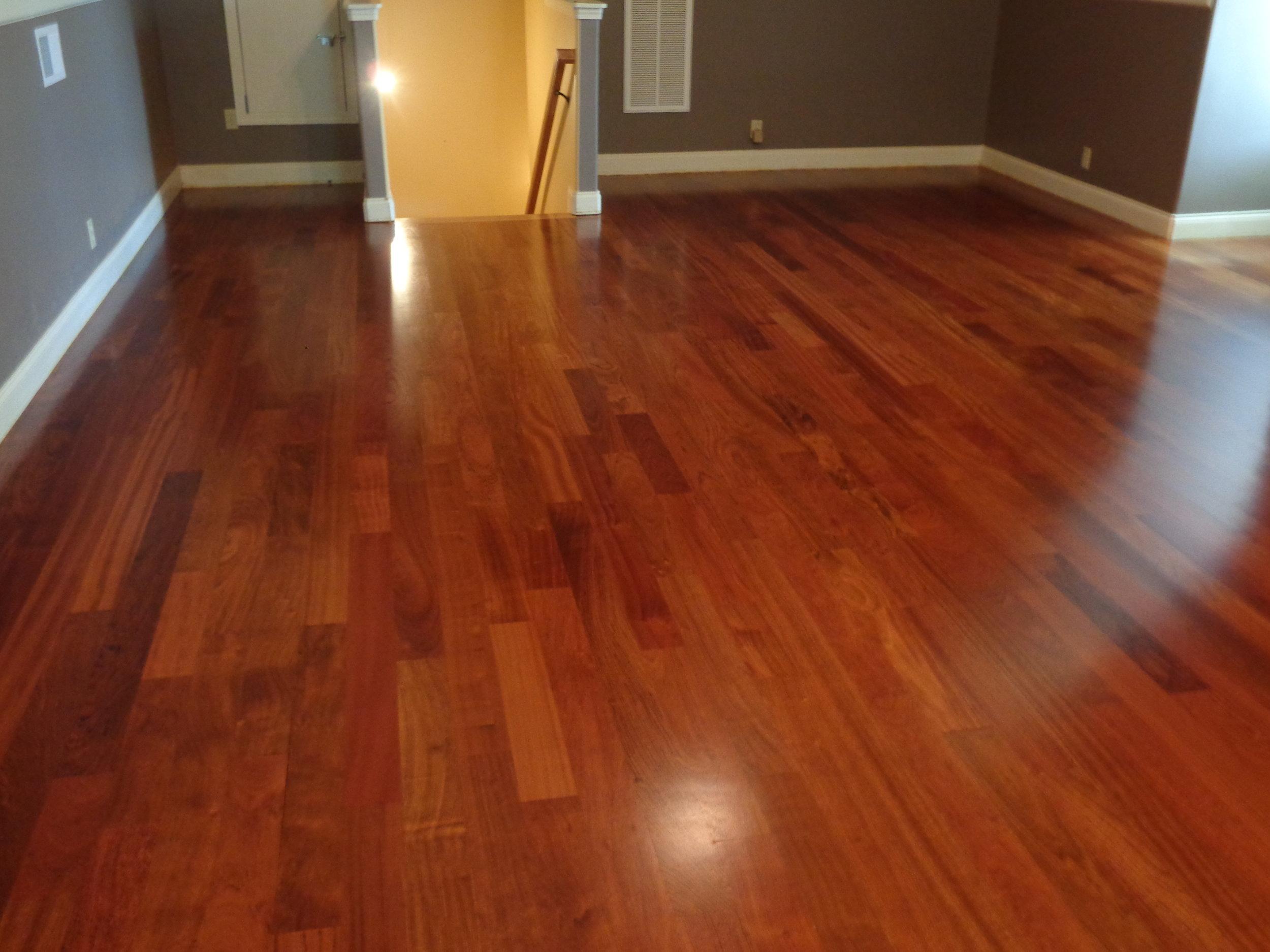 flooring installation -