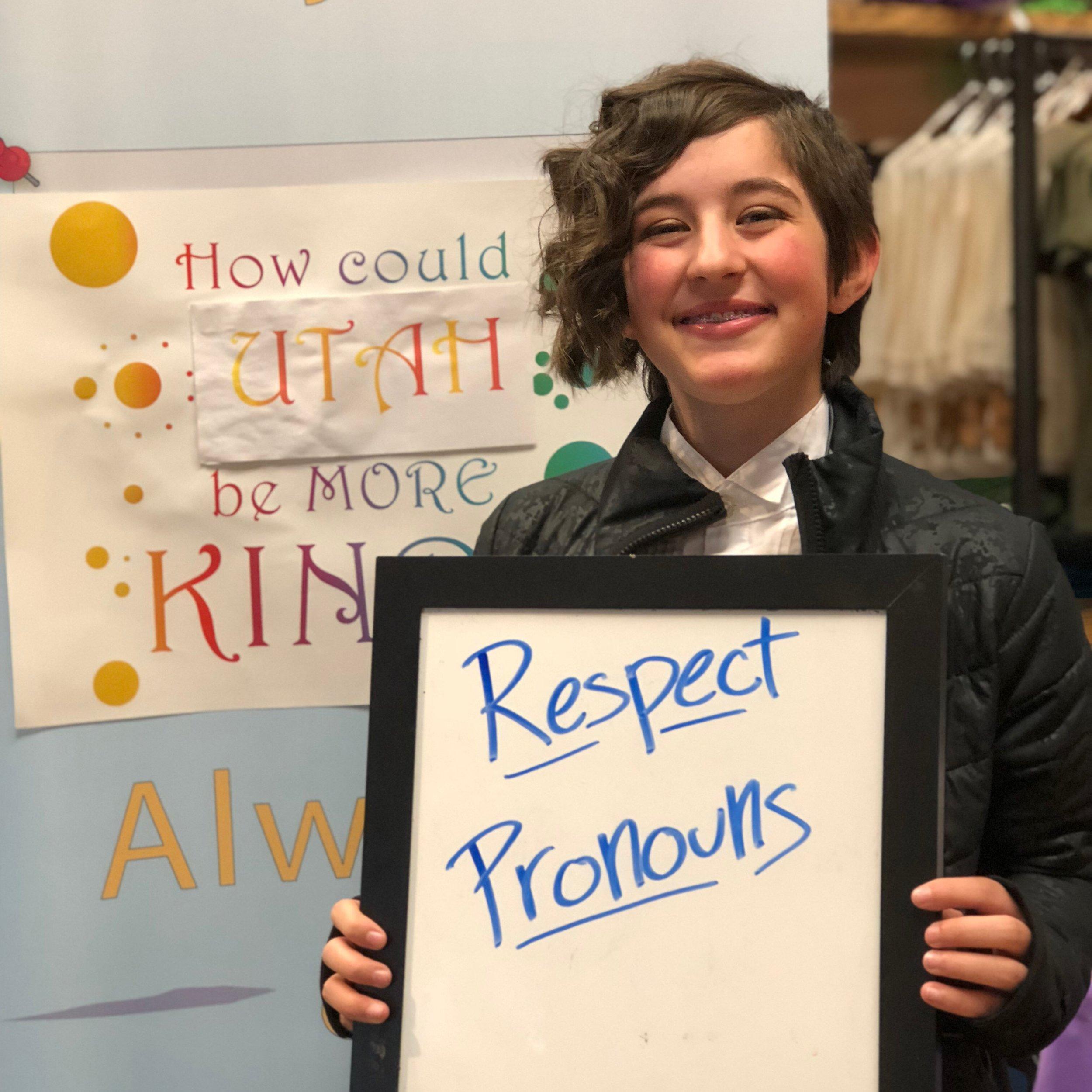 Respect Pronouns
