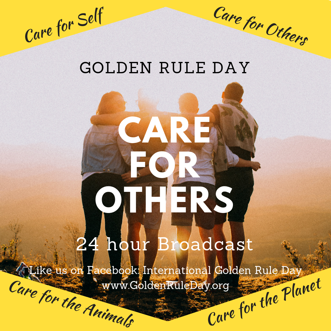 Caring for others - Golden Rule Day 2019