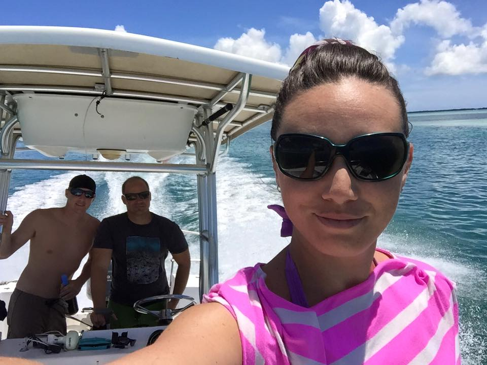 Boy do I have a tough job! Heading out on the water to shoot some content for one o my clients.