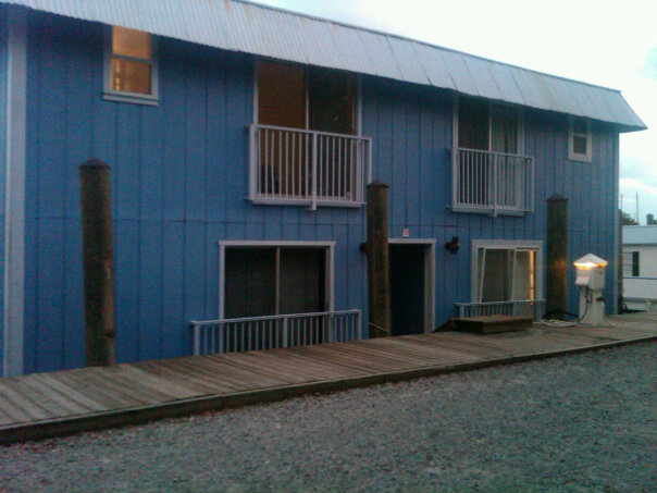 Big Blue. The Quadraplex Houseboat we called home when we first moved to Key West!