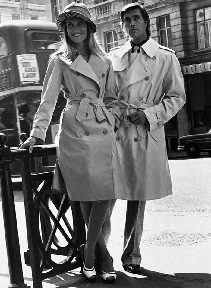 Burberry ad, 1974  Photo courtesy of  Fashion Gone Rogue