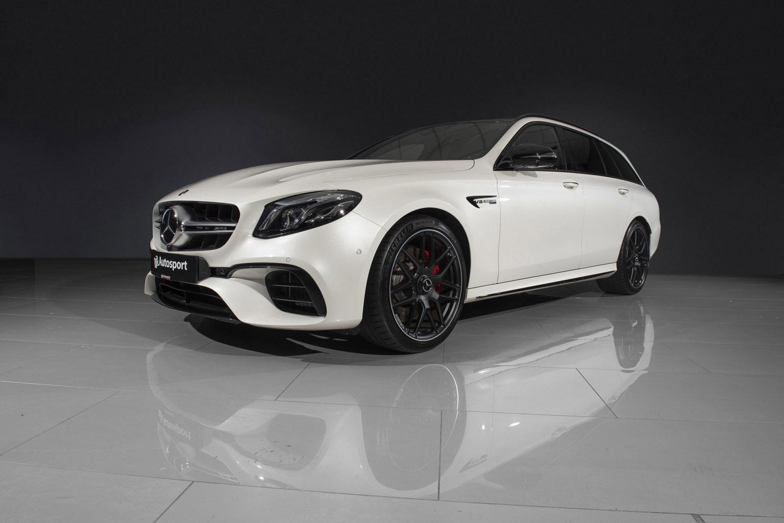 Mercedes-Benz E63S 2018 modell