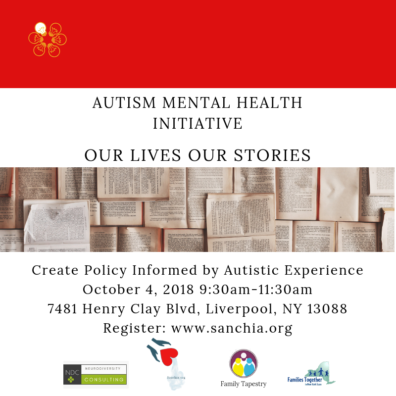 Autism Mental Health Initiative: Create policy informed by autistic experience.
