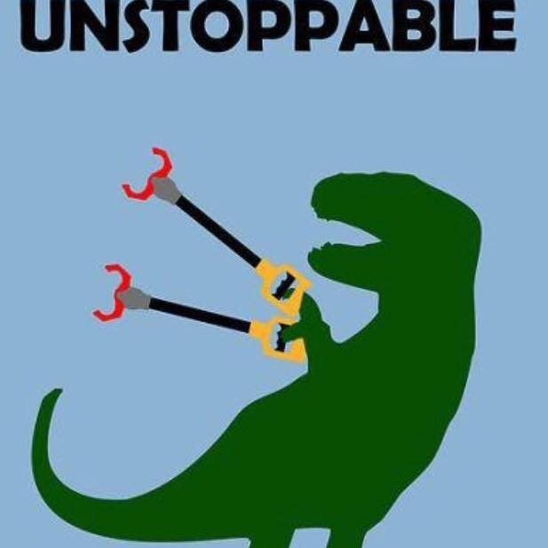 Meet Rex, one of Sanchia's favorite profile pictures. Together we are an unstoppable force for good. #Unstoppable
