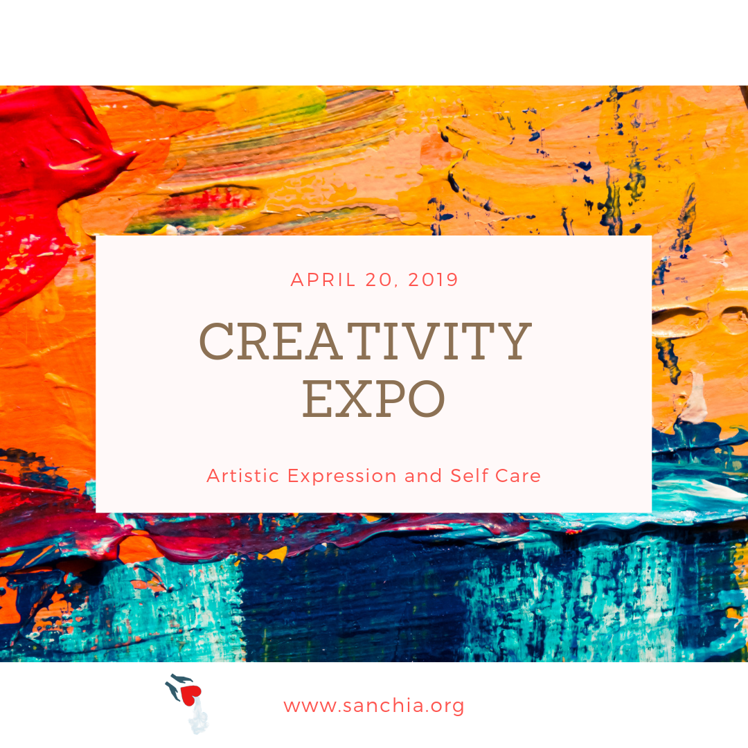 Creativity Expo 2019, creating opportunities for artistic expression and self care. Saturday, April 20, 2019 Bishop Harrison Center, 1342 Lancaster Ave, Syracuse, NY 13210