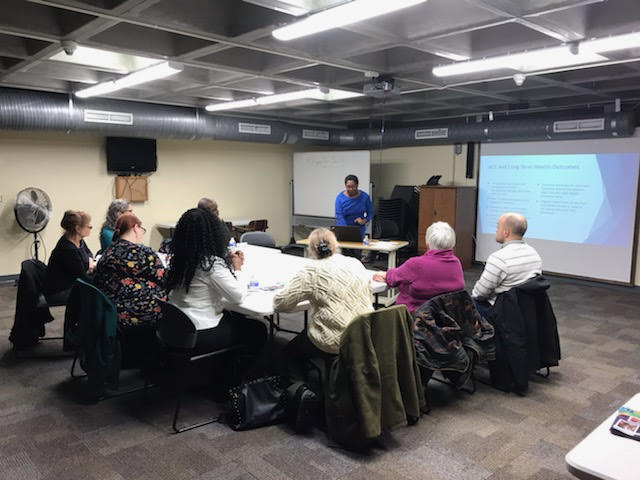 Workshop session at Hazard Branch Library in January 2019.