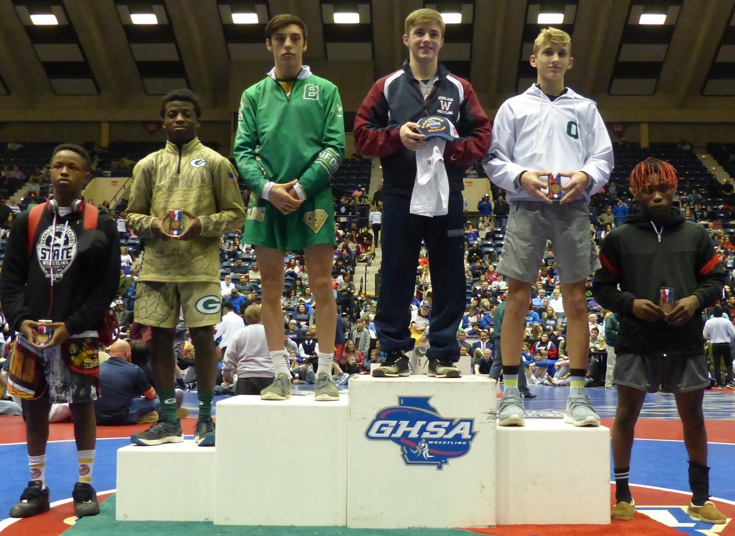 Brandon Foster 113 4th place