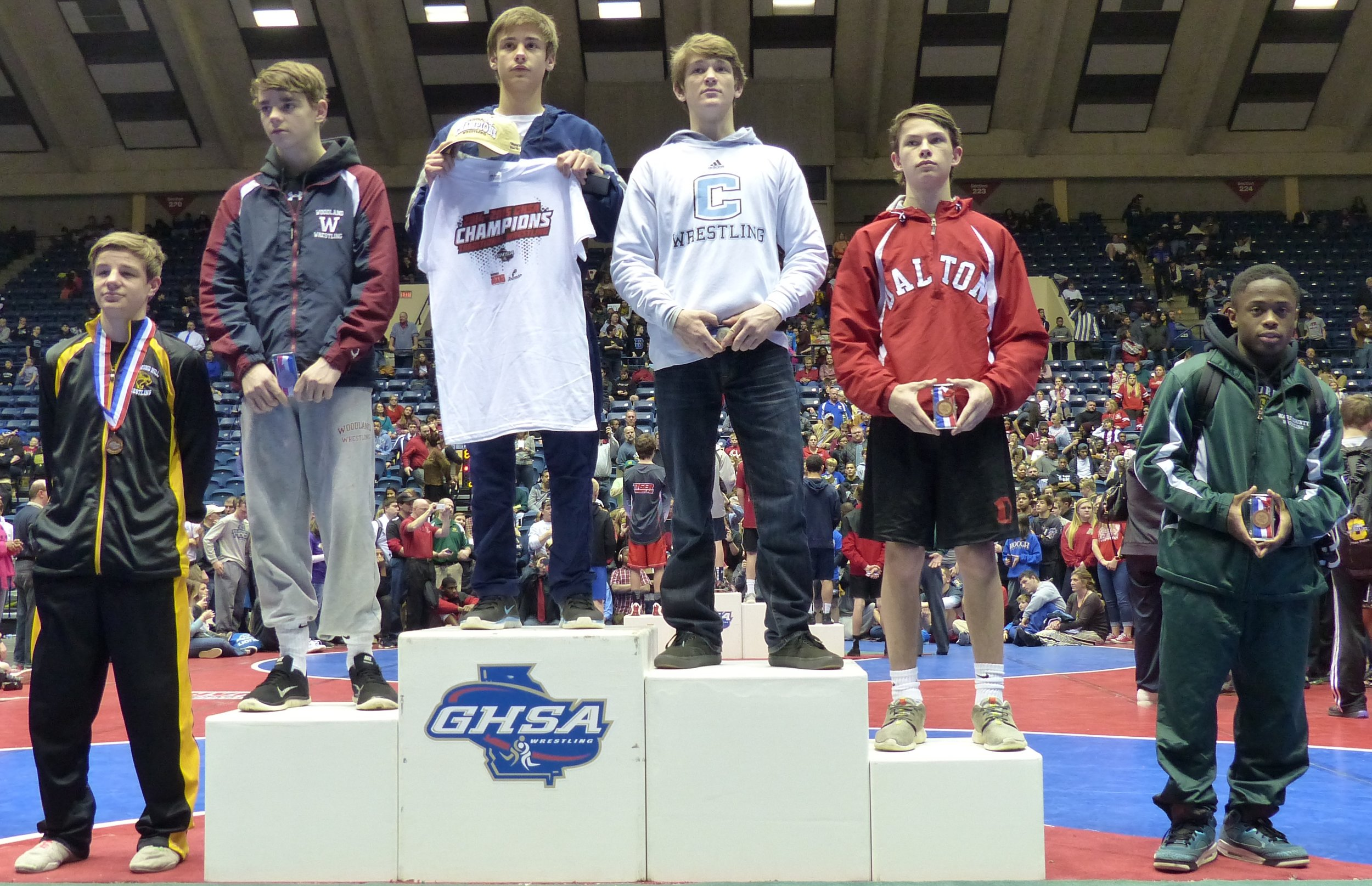 ZY GRANT 6th PLACE GA STATE CHAMPIONSHIP