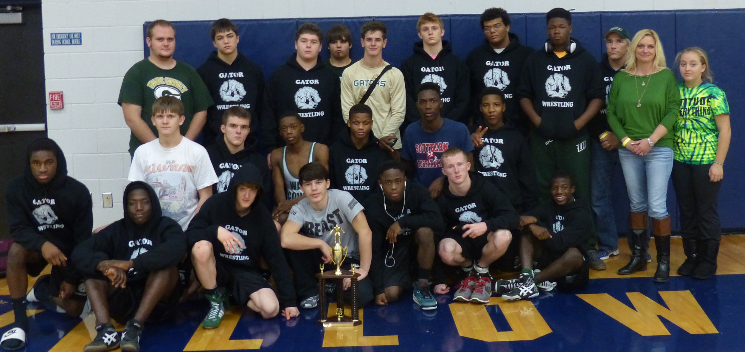2ND PLACE JEFF DAVIS YELLOW JACKET DUALS