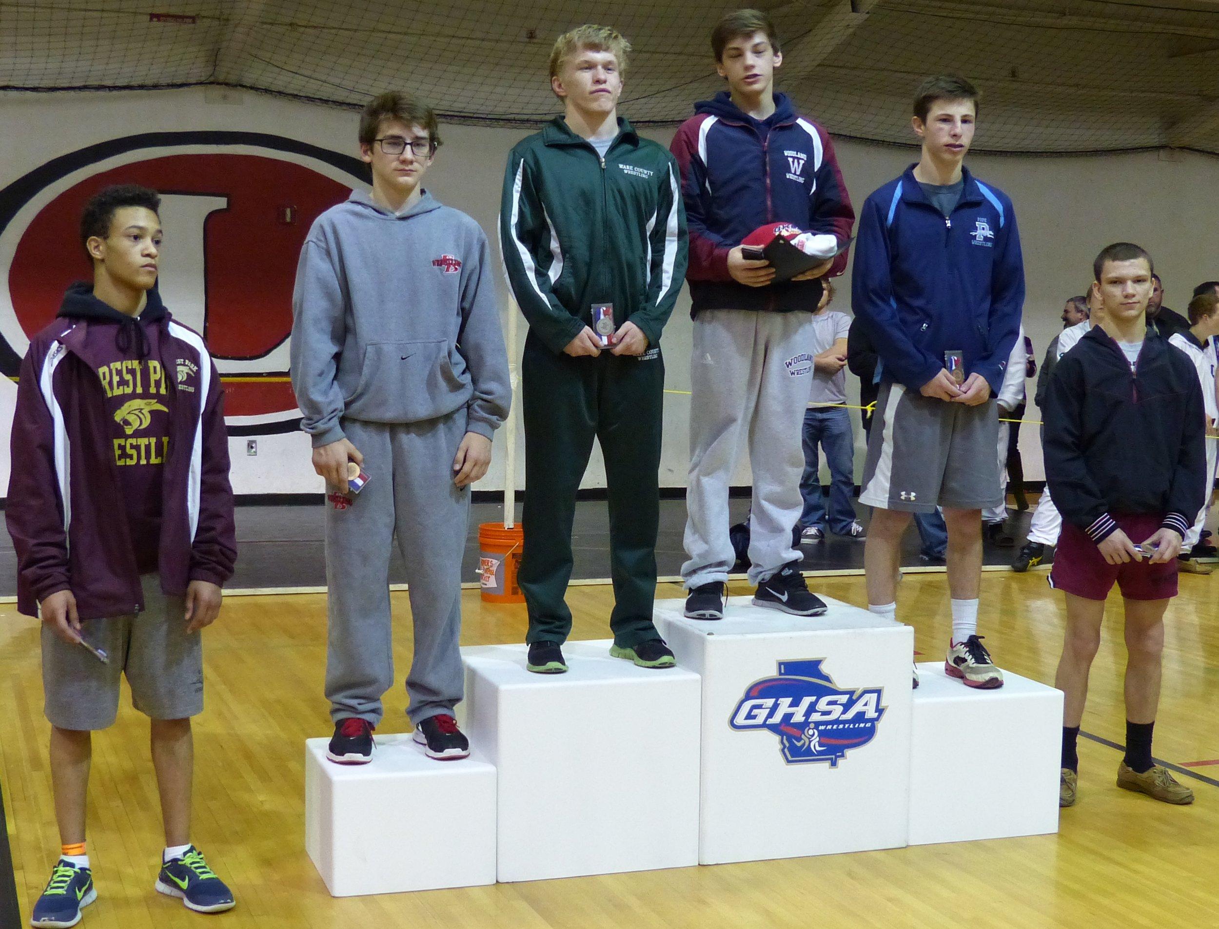 Luke Littlefield 2nd place 113 lbs