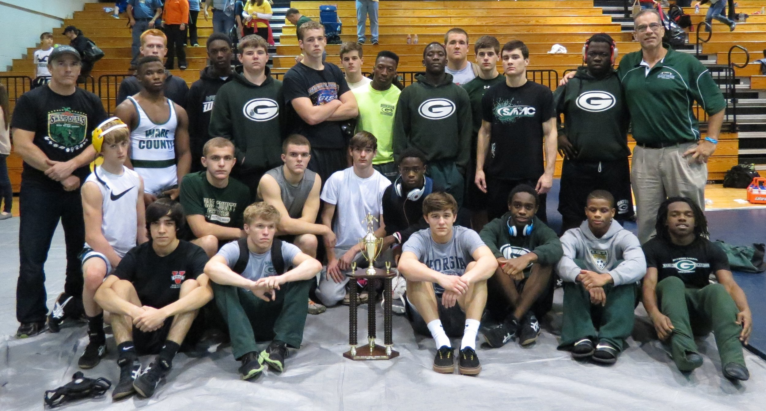Gators go 8-1 to take 2nd place in the Jeff Davis Yellow Jacket Duals  Dec 6 & 7, 2013