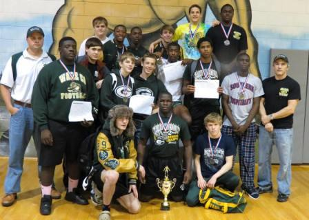 Ware wrestlers claim the Region 2AAAA Traditional Championship