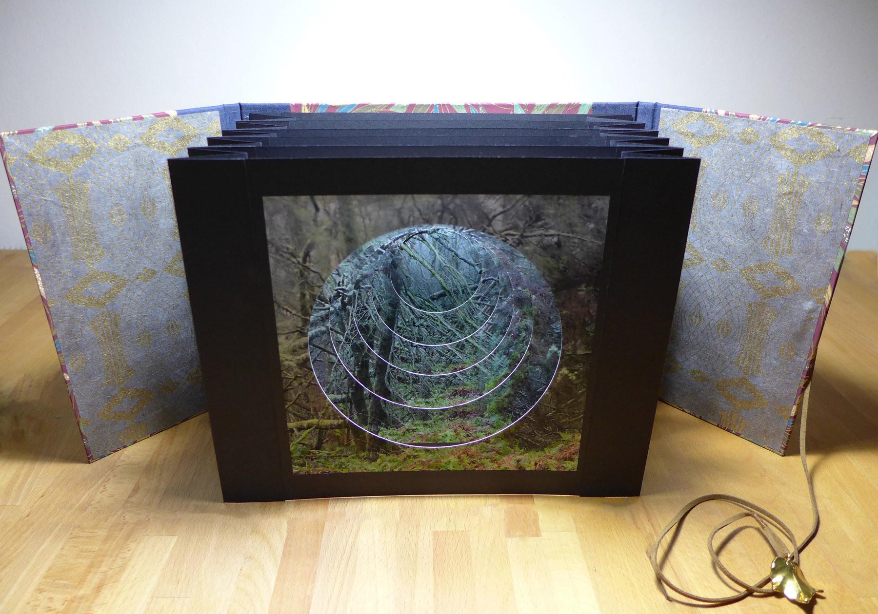 Woodland tunnel book