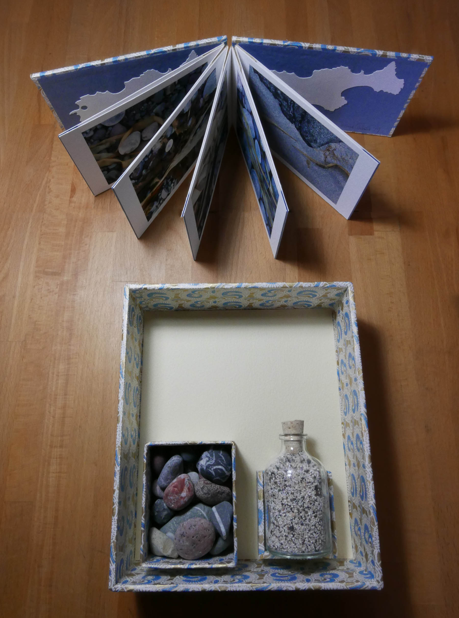 Hough Bay artists' book and presentation box