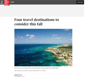 Four travel destinations to consider this fall THE GLOBE AND MAIL.