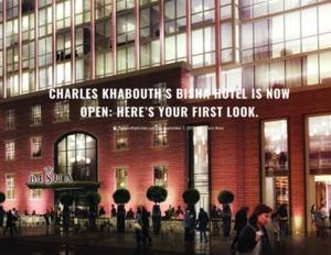 Charles Khabouth's Bisha Hotel Is Now Open TORONTONIGHTCLUB.COM