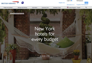 New York hotels for every budget BRITISH AIRWAYS