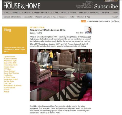 Jet Set Style HOUSE & HOME