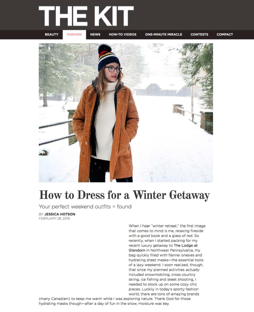 How to Dress for a Winter Getaway THE KIT