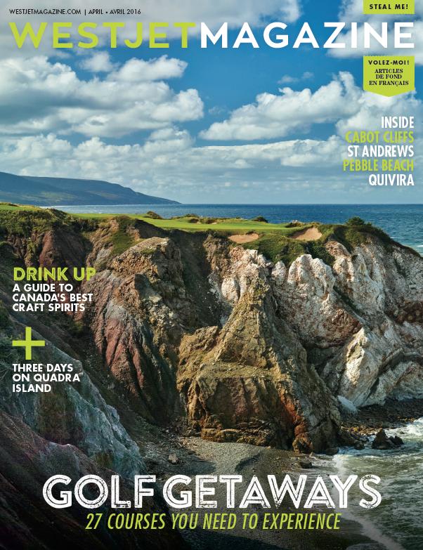 The Best of Golf WESTJET MAGAZINE