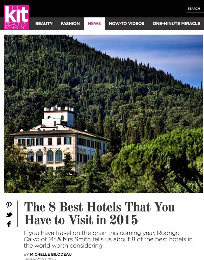 The 8 Best Hotels That You Have to Visit in 2015 THE KIT