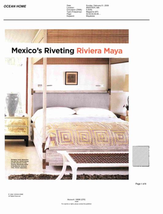 Mexico's Riveting Riviera Maya OCEAN HOME