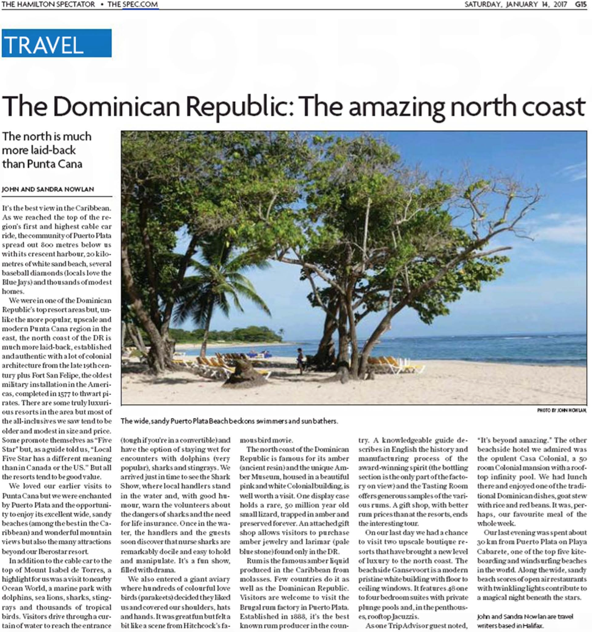 The DR: The amazing north-coast<br>HAMILTON SPECTATOR