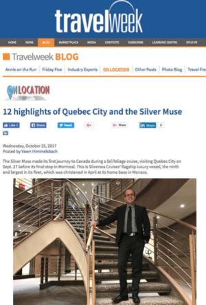 12 Highlights of Quebec City<br>TRAVELWEEK