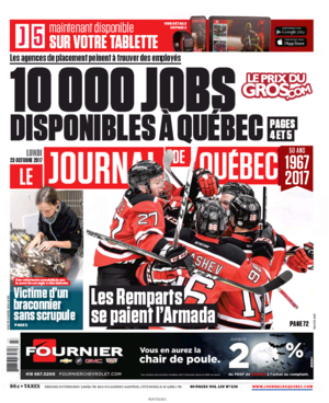 TripAdvisor Honore Les Tables De Quebec<br>LE JOURNAL DE QUEBEC