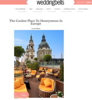 The Coolest Place To Honeymoon In Europe<br>WEDDINGBELLS.CA